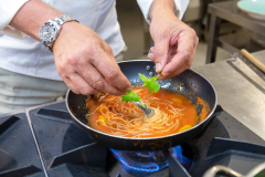 Spaghetto ai 4 pomodori Il Convivio del Miramare